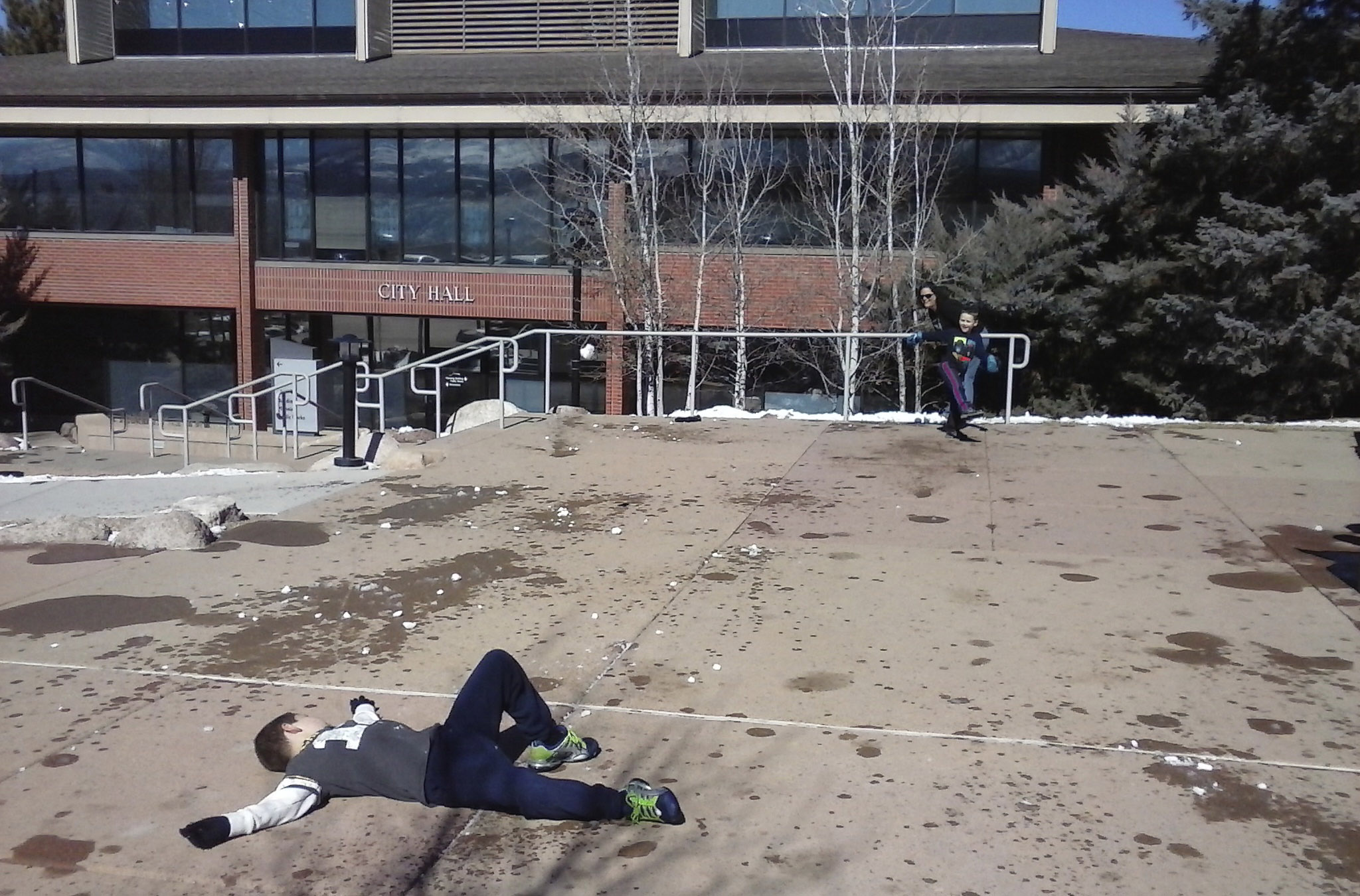 Afternoon Snowball Fight Ends in Disaster