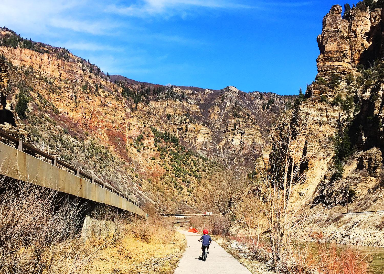 Glenwood Canyon Bike Trail