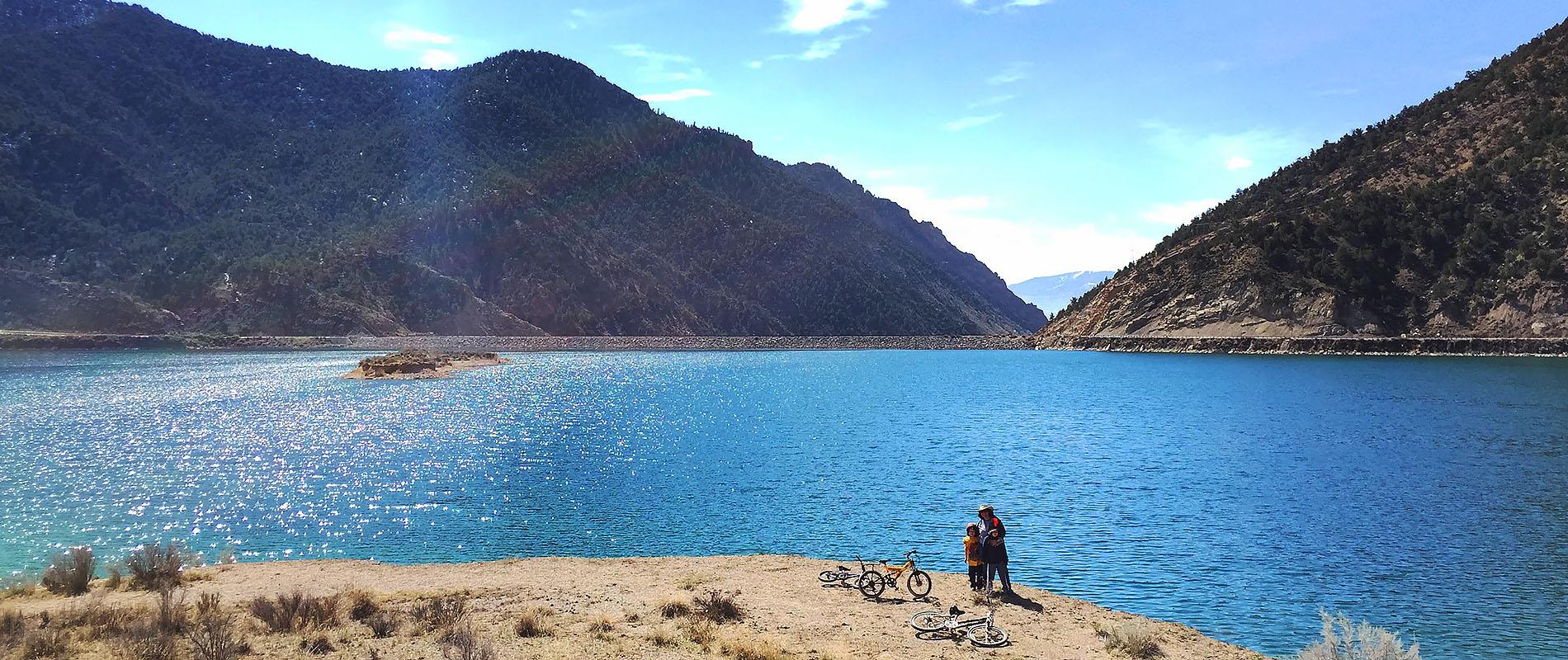 Bikin' Around the Reservoir
