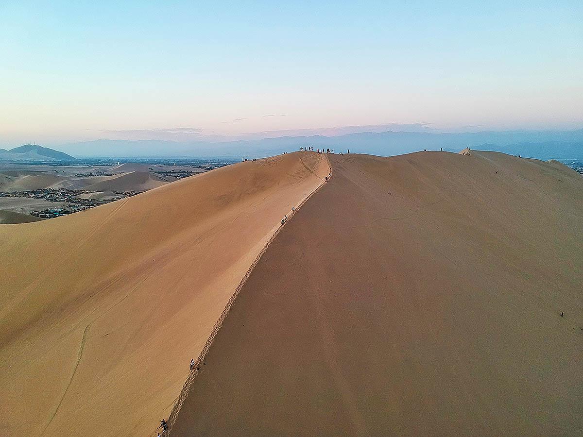 Giant Dune, Huacachina, Peru